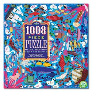 eeBoo Below The Surface 1008 Piece Puzzle