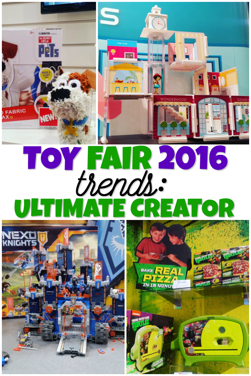 Toy Fair 2016 Trends Ultimate Creator