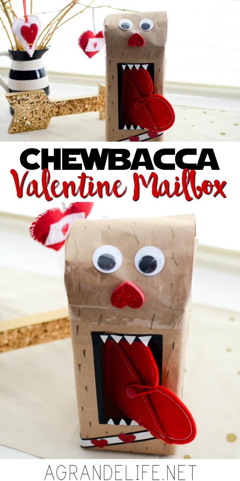 chewbacca valentine mailbox
