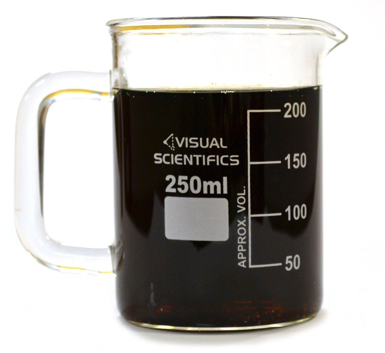 science lab beaker coffee cup