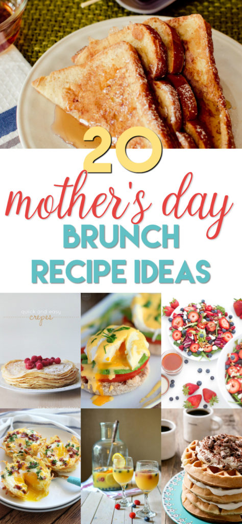 20 mother's day brunch recipe ideas