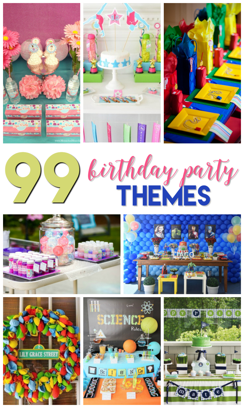 99 birthday party themes