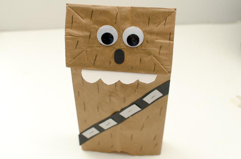 Chewbacca Paper Bag Puppet A Grande Life