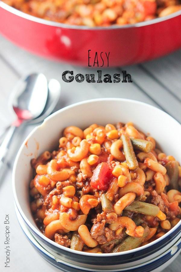 Easy-Goulash