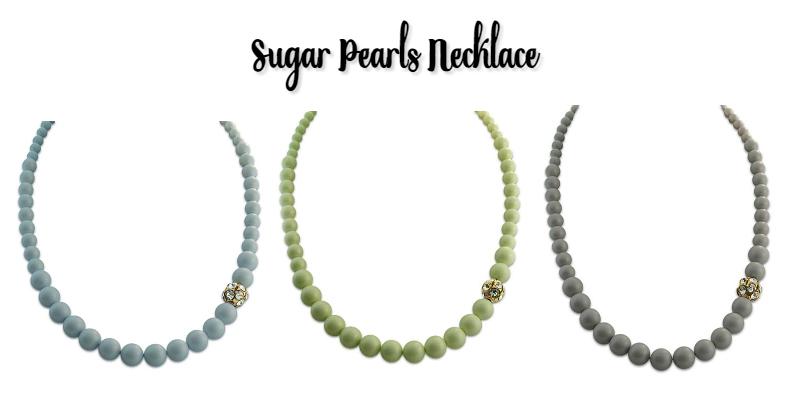 sugar pearls necklace