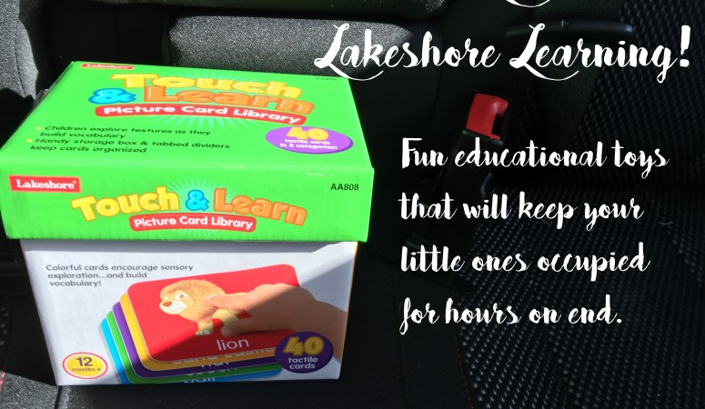 Travel and Learn with Lakeshore Learning Toys