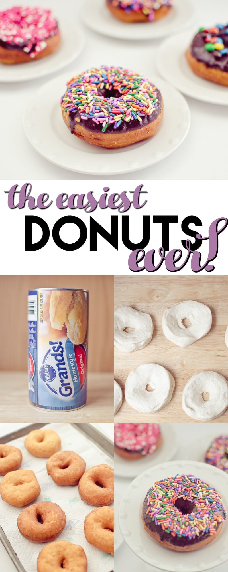 the easiest donuts ever