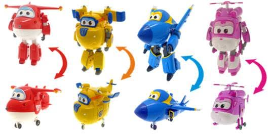 Auldey Super Wings Play Sets