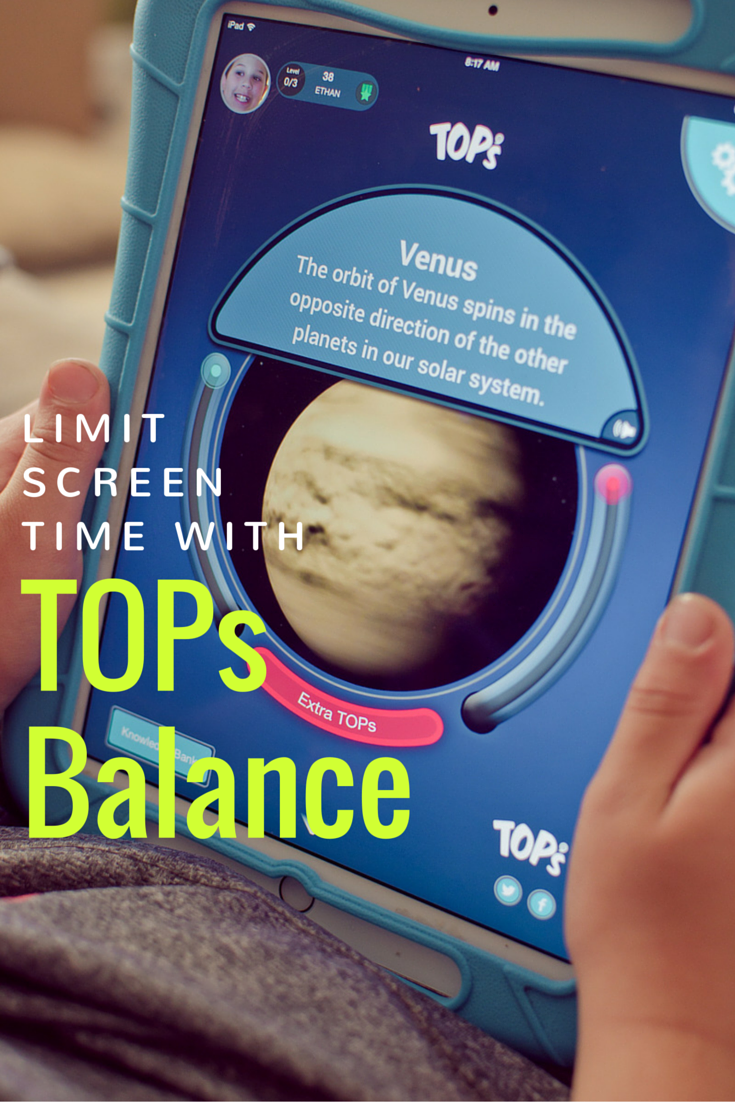 Limit Screen Time with TOPs Balance