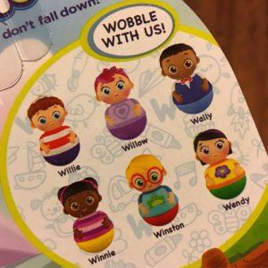 Weeble Characters