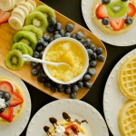 Waffle Breakfast Pizzas