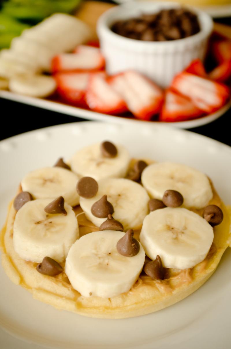 Waffle Breakfast Pizzas-3
