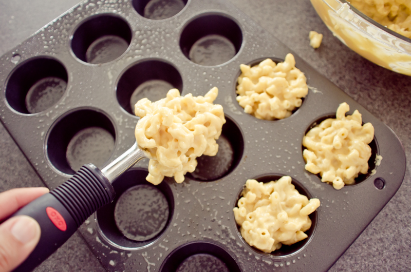 gouda and bacon mac and cheese cups-3