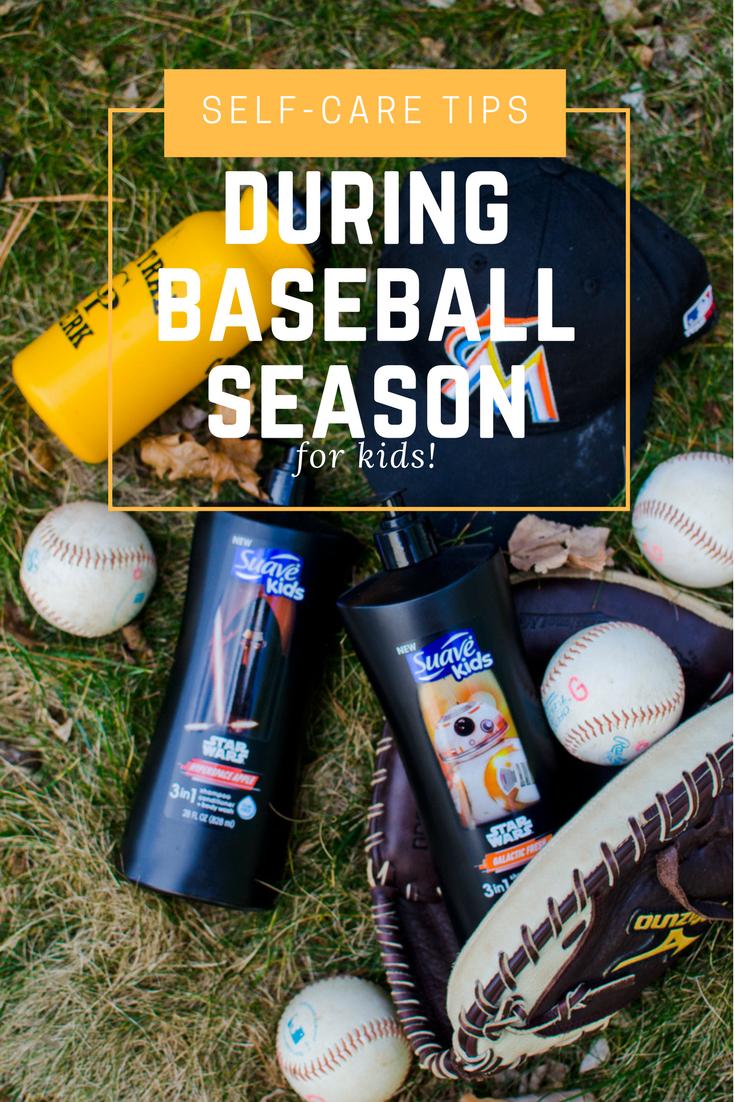 Self-Care Tips for Baseball Season for Kids