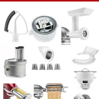 10 Must-Have KitchenAid Mixer Attachments