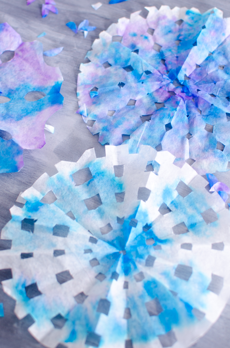 coffee filter snowflakes-5