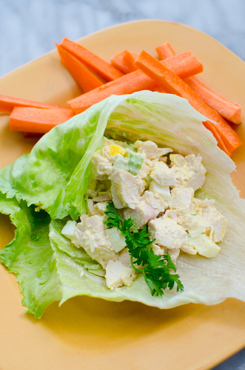 low carb chicken salad-2