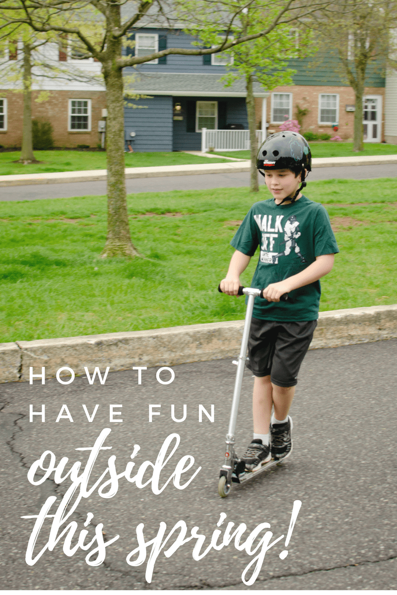 How to Have Fun Outside This Spring