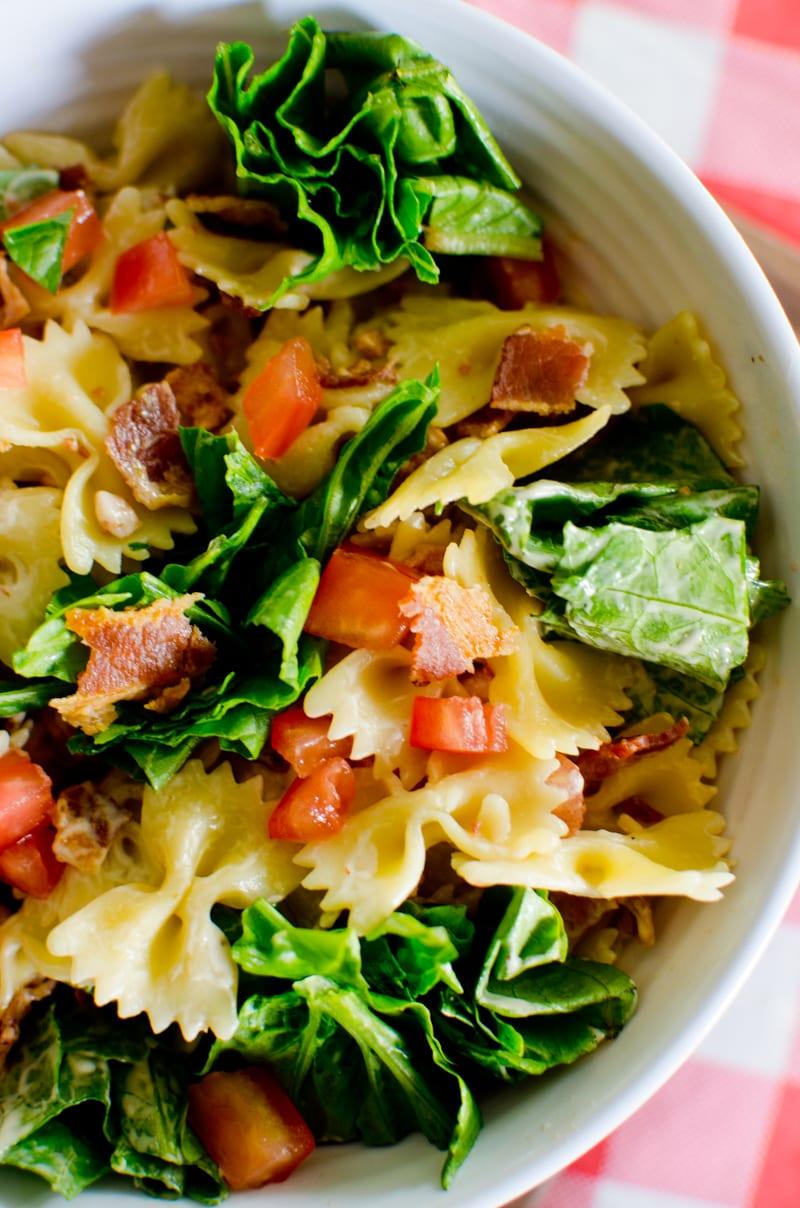 blt pasta salad-6