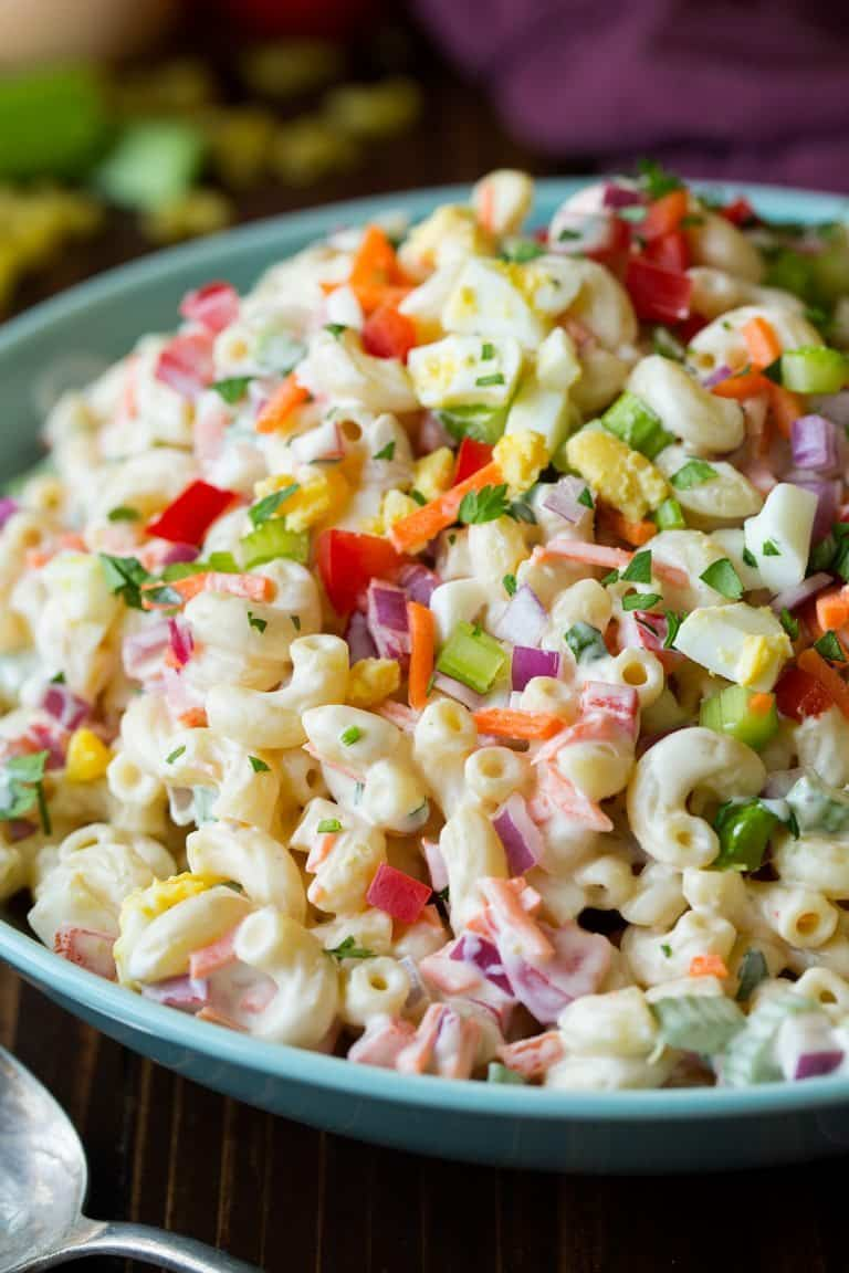 The best pasta salads ever a grande life for Best summer pasta salad recipes ever
