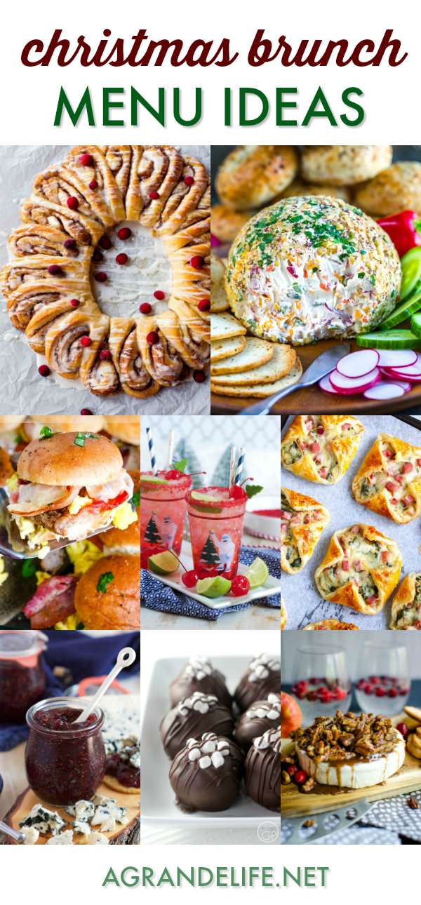 Christmas Brunch Menu Ideas
