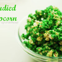 St. Patrick's Day Candied Popcorn