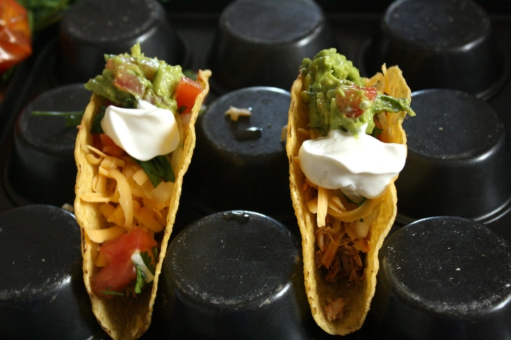Muffin Tins To Hold Taco Shells