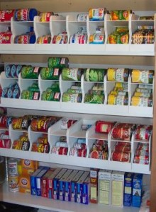 Soda Can Racks to Organize Your Pantry
