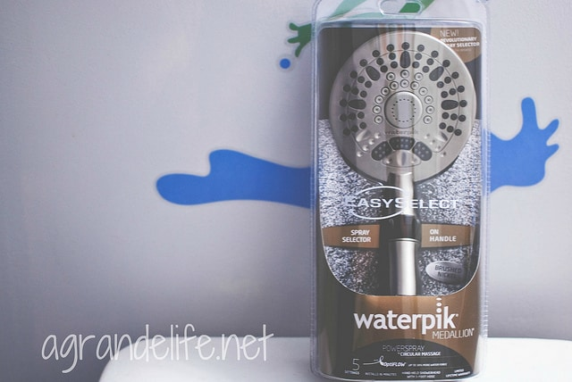 waterpik PowerSpray+™ EasySelect® Hand Held Shower Heads