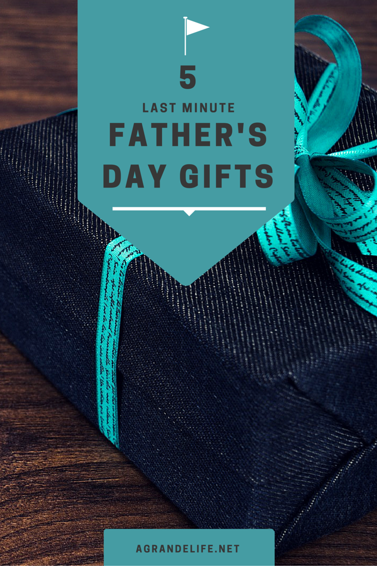 5 last minute father's day gifts