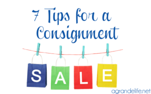 7 tips for a consignment sale
