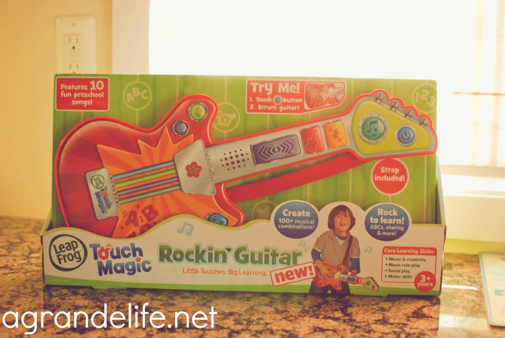 leapfrog rocking guitar