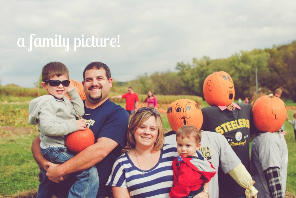 fall family picture