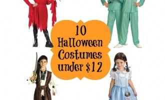10 halloween costumes under $12