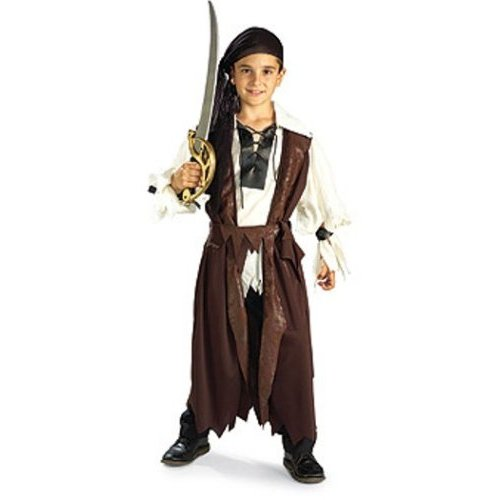 boys' pirate costume