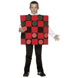 checkerboard costume