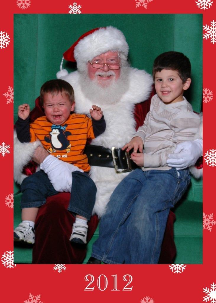 2012 santa picture