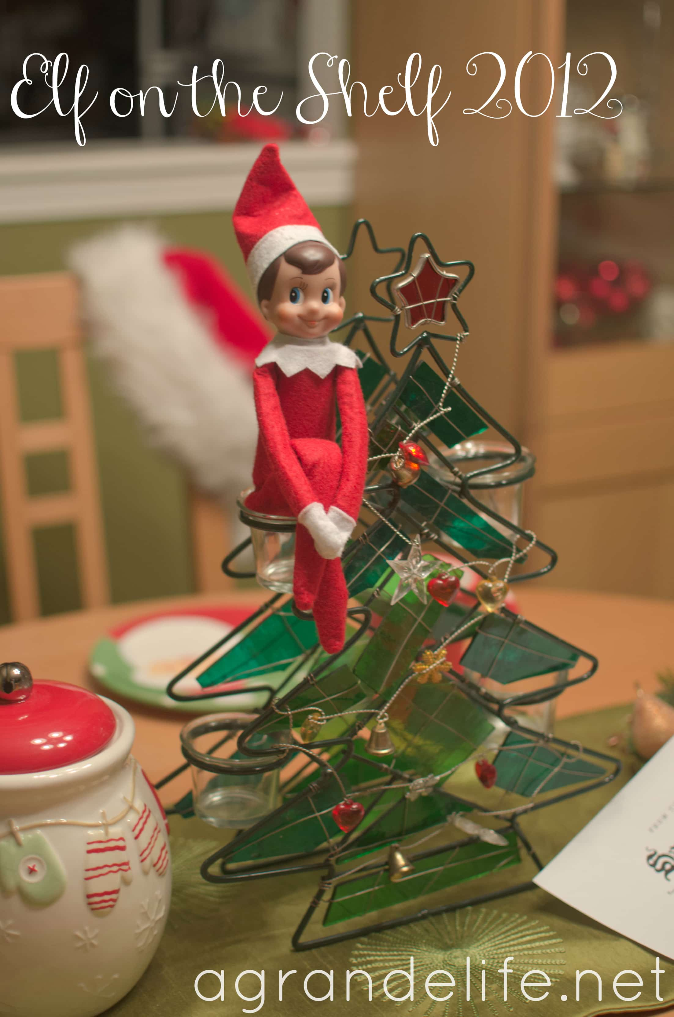 he comes back sometime around thanksgiving as it says in the elf on the shelf book. But he could come anytime. BE GOOD! No my elf last year came back around the beginning of November. he comes back sometime around thanksgiving as it says in the elf on the shelf book.