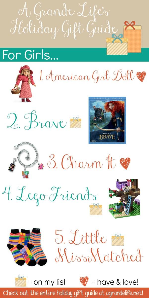 girl holiday gift guide
