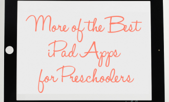 best ipad apps for preschoolers