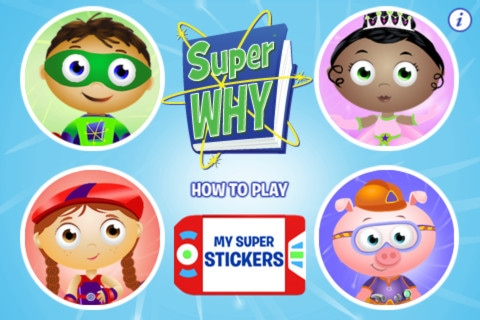 super why ipad app