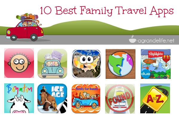 10 best travel apps for families