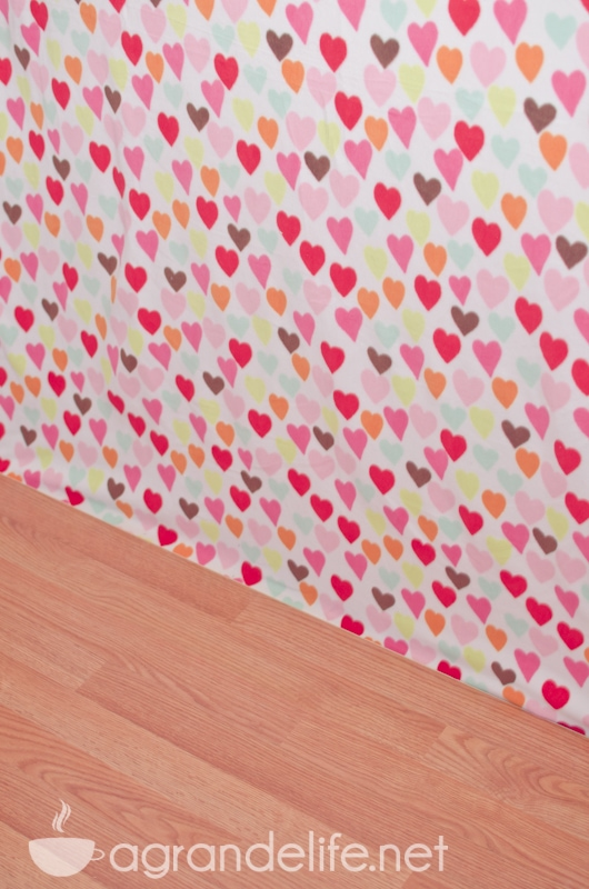 diy valentines day photography backdrop 2 - Valentines Backdrops