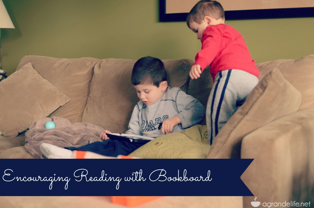 encouraging reading with bookboard