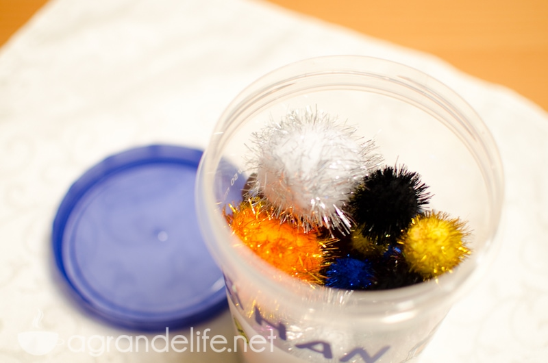 reward system pom pom jar