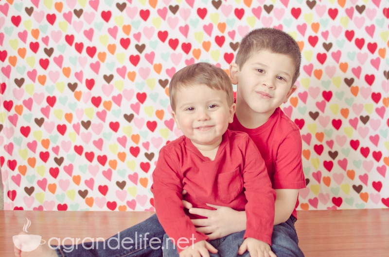 Diy Valentine S Day Photography Backdrop