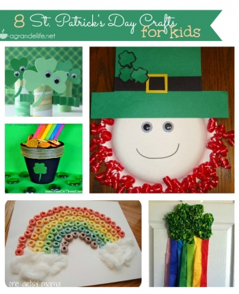 8 St patricks day crafts for kids