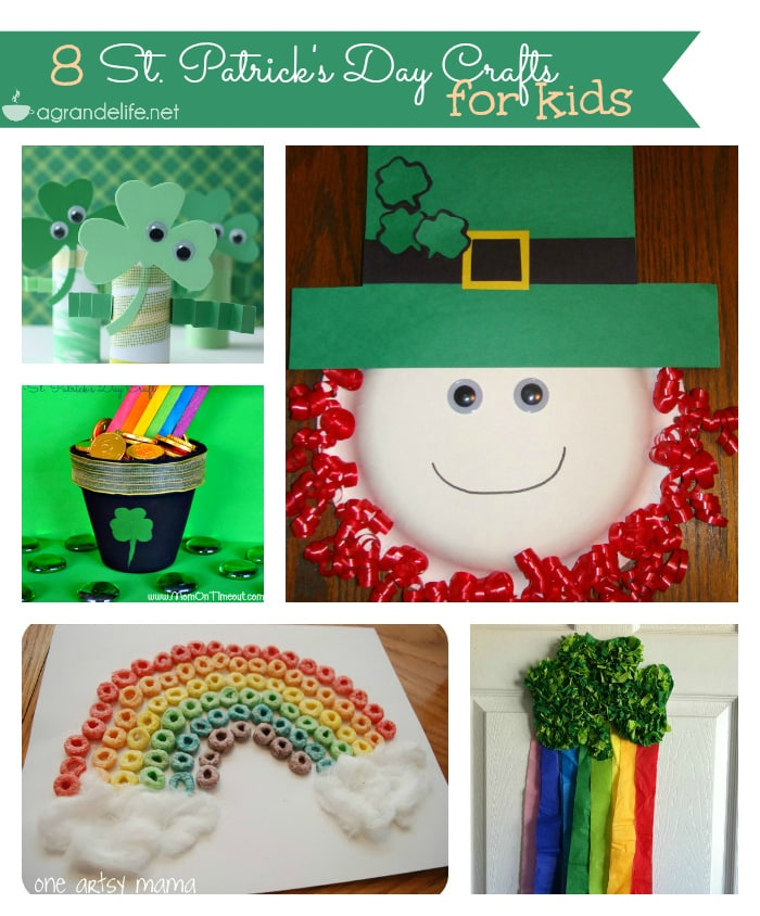 8 st patrick s day crafts for kids
