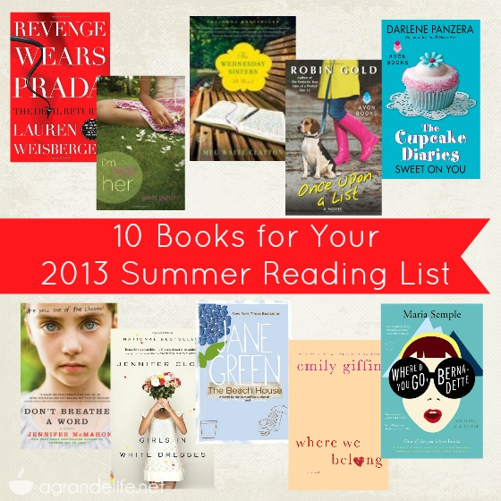 10 books for your 2013 summer reading list
