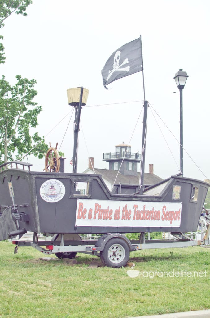 be a pirate at tuckerton seaport